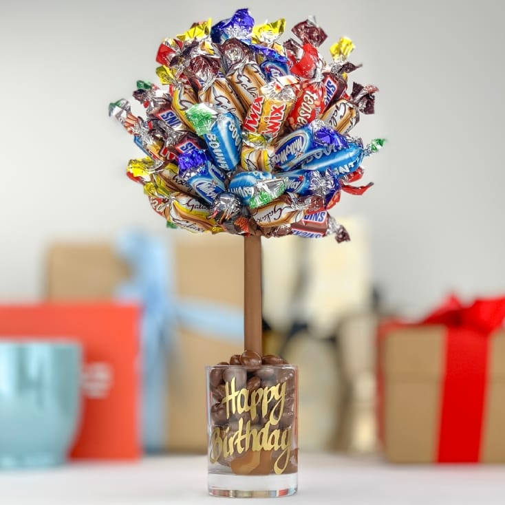 Personalised Celebrations Chocolate Tree