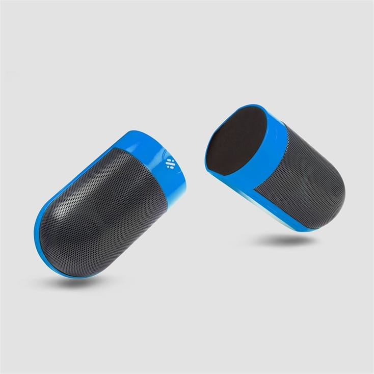 Detachable Magnetic Blue Speakers