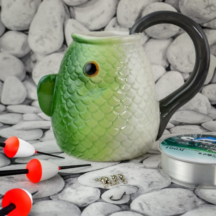 Fishing Essentials with Mug
