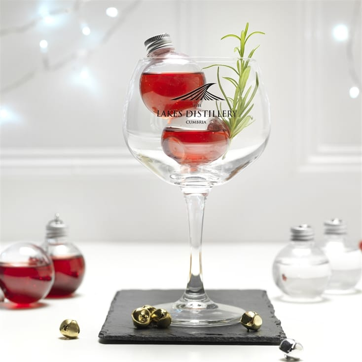 The Lakes Gin Filled Baubles Gift Set