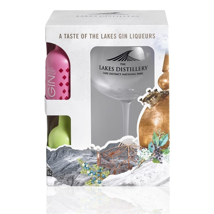 Lakes Distillery Gin Gift Set