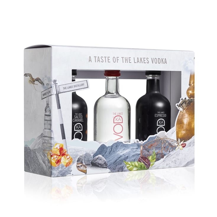The Lakes Distillery Miniature Gift Set