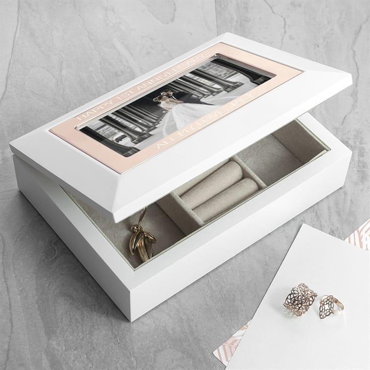 Personalised Photo Jewellery Box