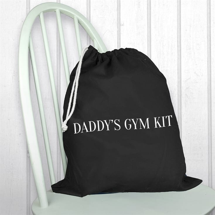 Personalised Cotton Gym Sack