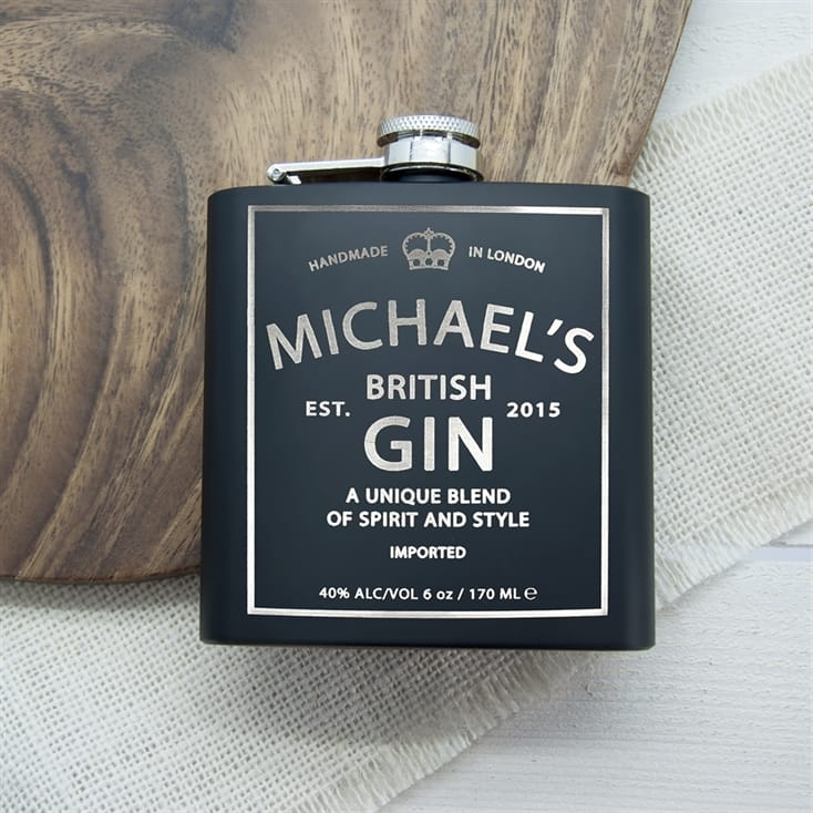 Personalised Vintage Hip Flask
