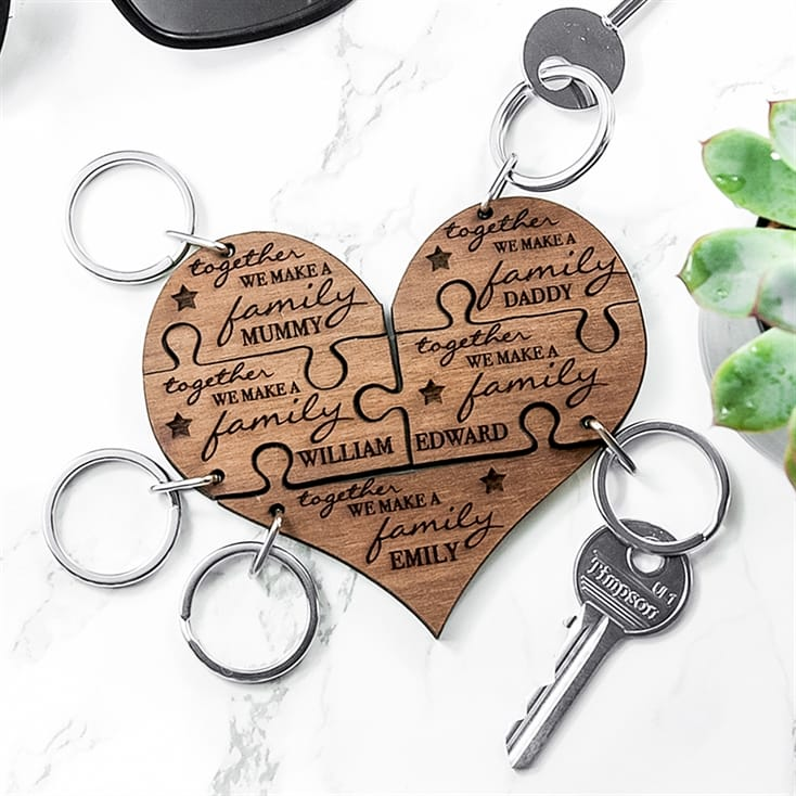 Personalised Together Keyring