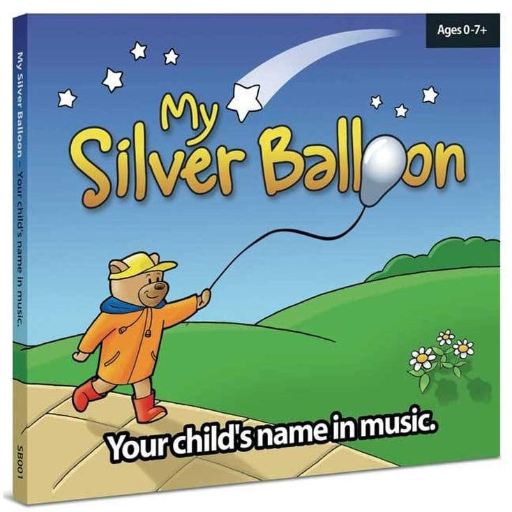 My Silver Balloon Personalised Childrens CD