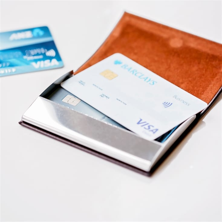 Personalised Engraved Business Card/Credit Card Holder