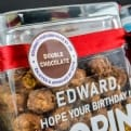 Thumbnail 6 - Personalised Joe & Sephs Popcorn Glass Jars