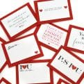 Thumbnail 4 - Five Mini Love Quote Cards