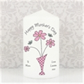 Thumbnail 4 - Personalised Flowers & Vase Candle