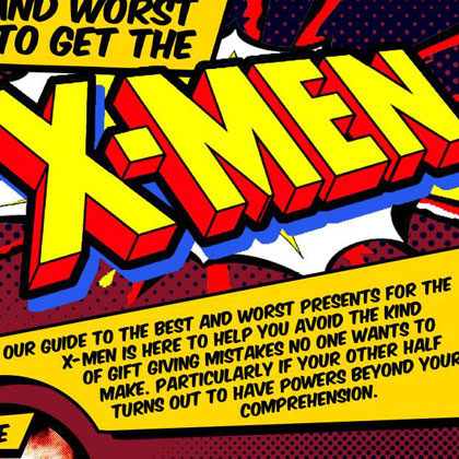 The Best & Worst Gifts to Get the X-Men