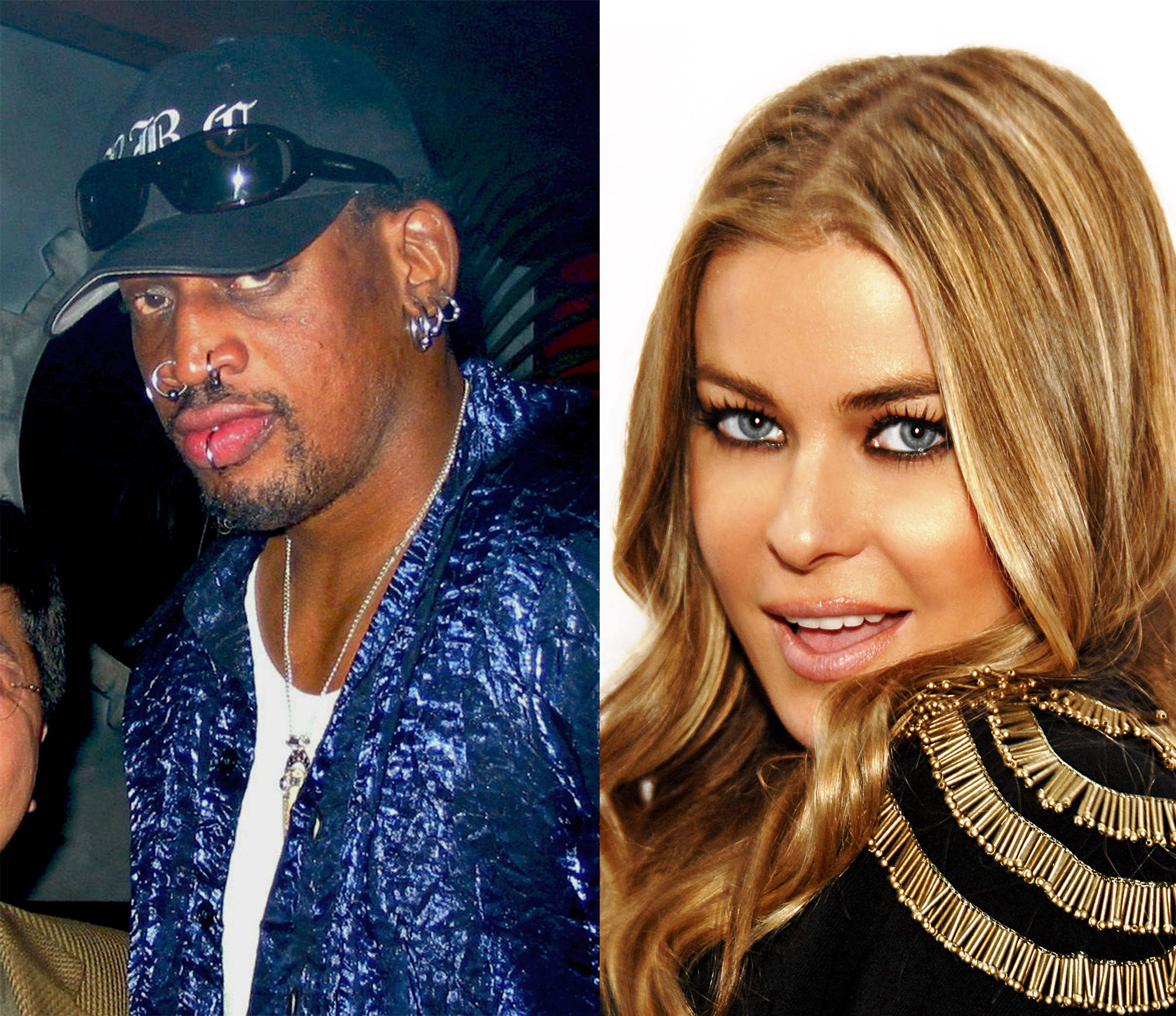 Picture of Carmen Electra and Dennis Rodman