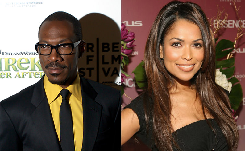 Picture of Eddie Murphy and Tracey Edmonds