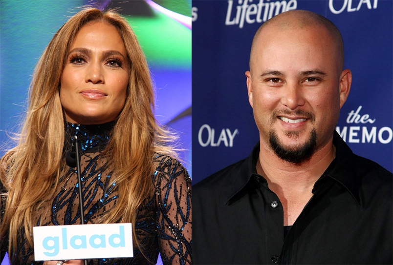 Picture of Jennifer Lopez and Cris Judd