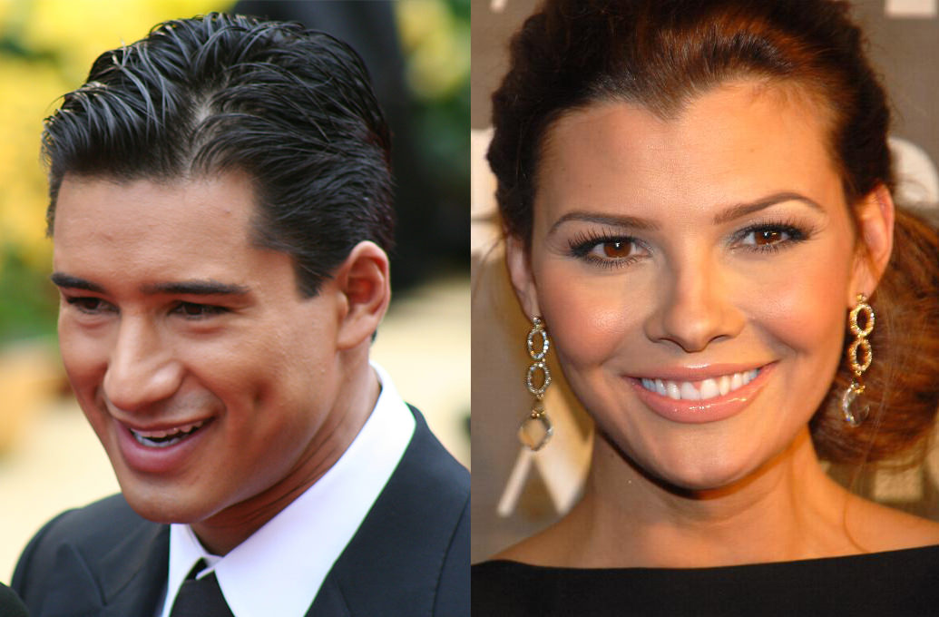 Picture of Mario Lopez and Ali Landry