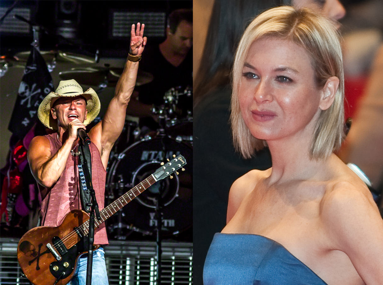 Picture of Ren�e Zellweger and Kenny Chesney