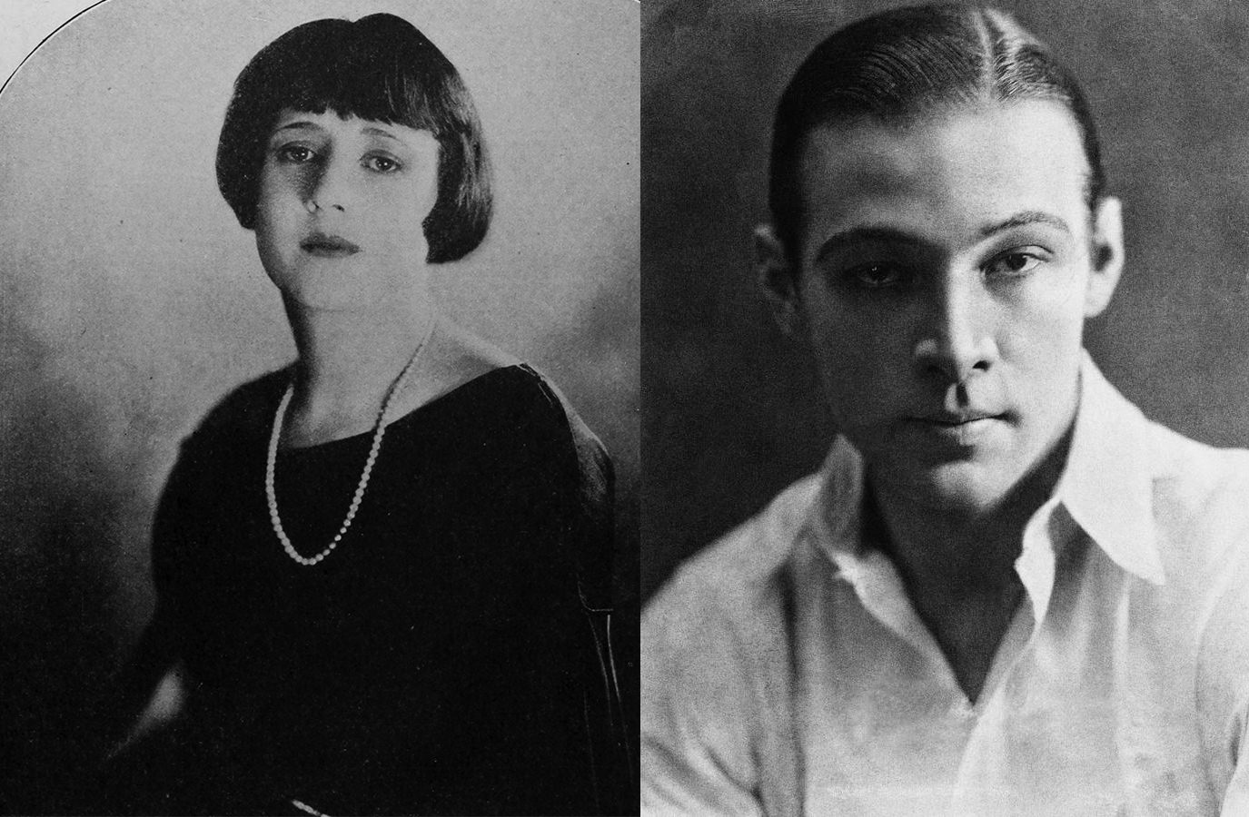 Picture of Rudolph Valentino and Jean Acker